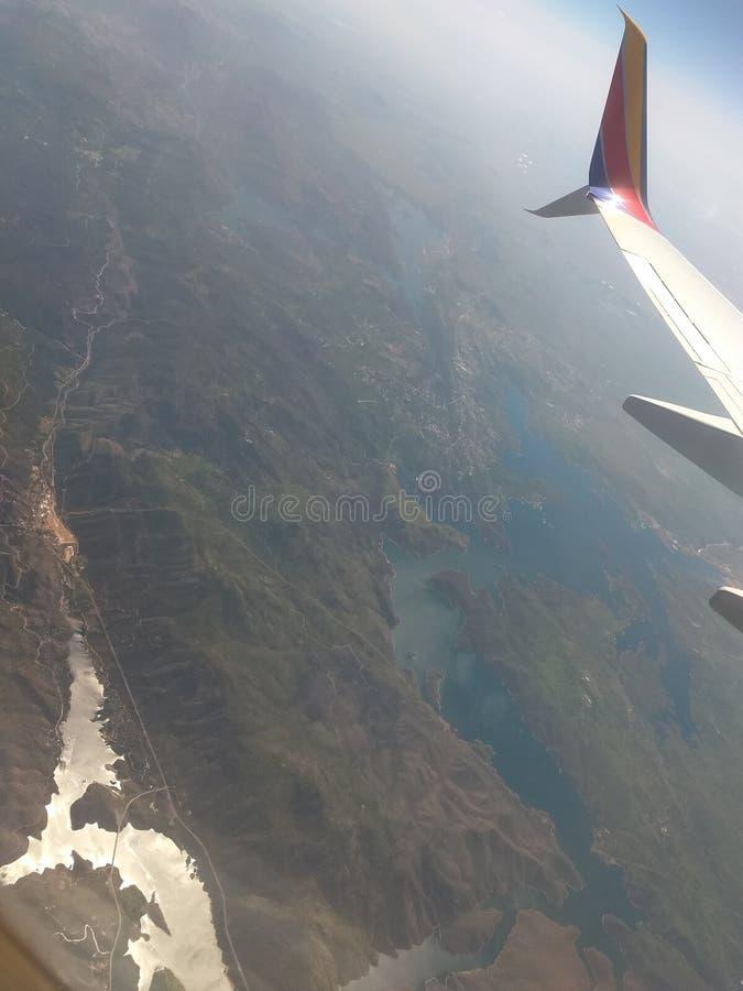 Merveilles d'AirView photos stock