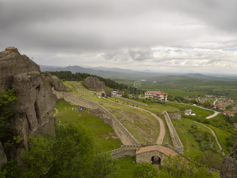 Merveilles de Bulgare - phénomène des roches de Belogradchik photos stock