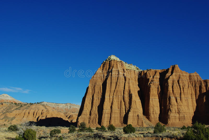 Merveilles de vallée de cathédrale, Utah image libre de droits