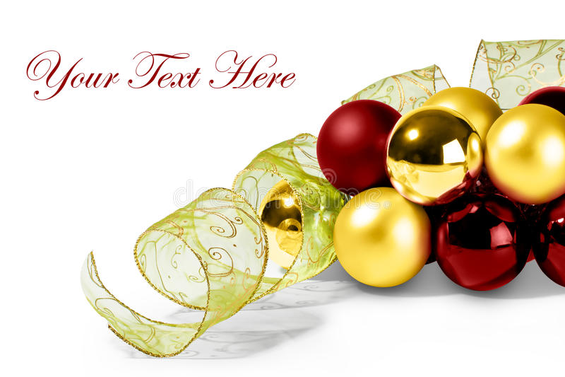 Download Mery Christmas Card stock photo. Image of ornate, gold - 20996226