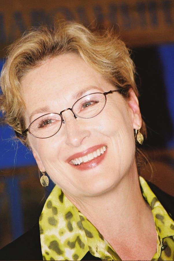 Meryl Streep photo libre de droits