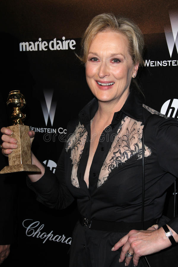 Meryl Streep photographie stock