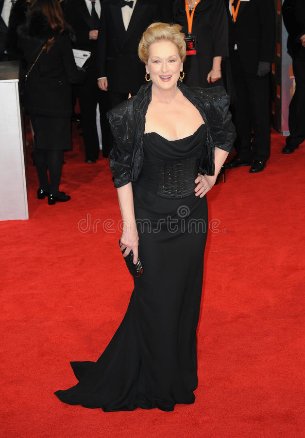 Meryl Streep. Attends the Orange British Academy Film Awards 2012 at the Royal Opera House. February 12, 2012, London, UK Picture: Catchlight Media / stock images