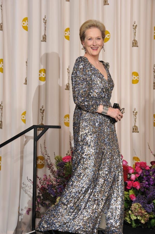 Meryl Streep royalty-vrije stock fotografie