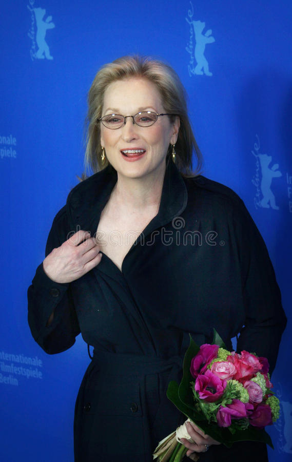 Meryl Streep stock foto