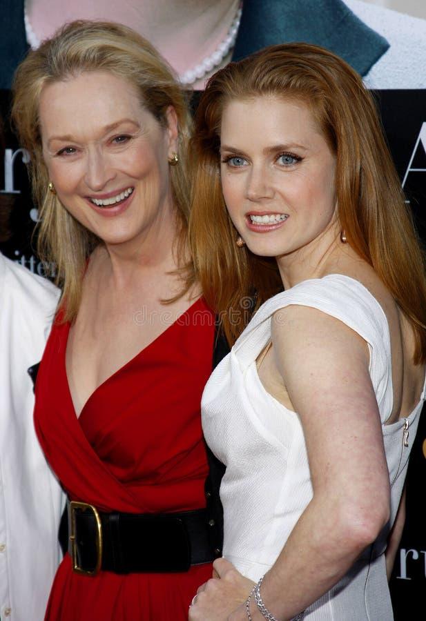 Meryl Streep et Amy Adams photos stock