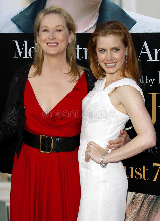 Meryl Streep et Amy Adams image stock