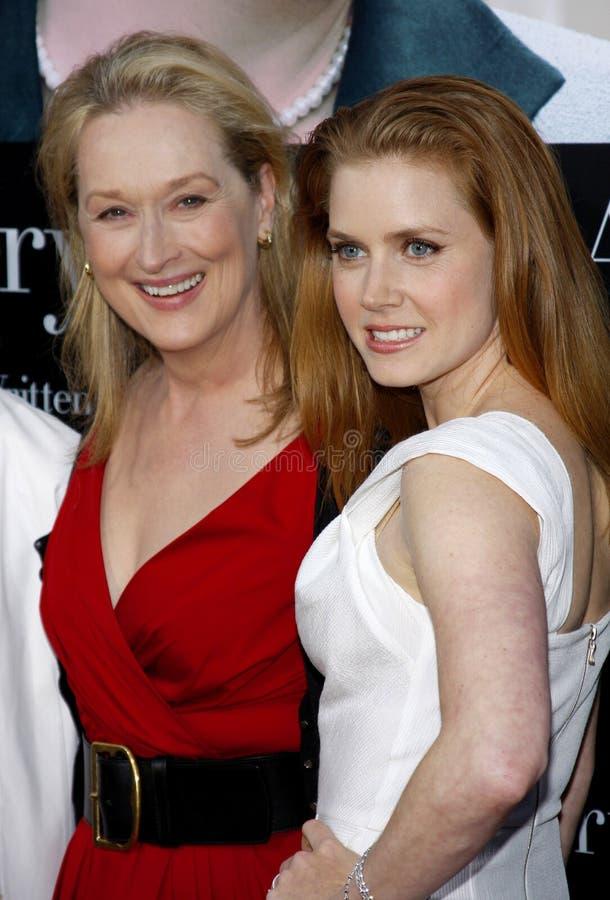 Meryl Streep et Amy Adams photographie stock libre de droits