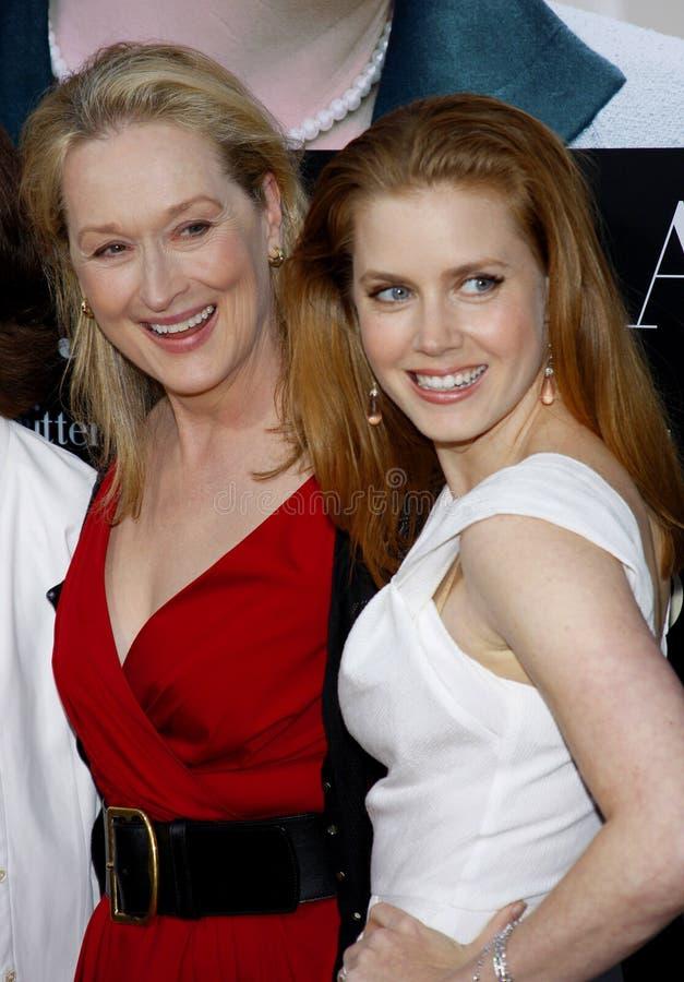 Meryl Streep et Amy Adams images stock