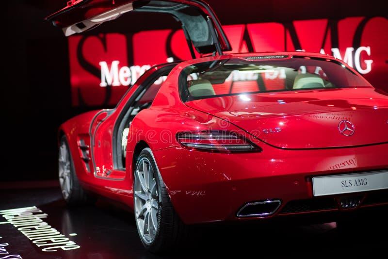 Merzedes Benz gezeigt auf 63. IAA stockfotografie