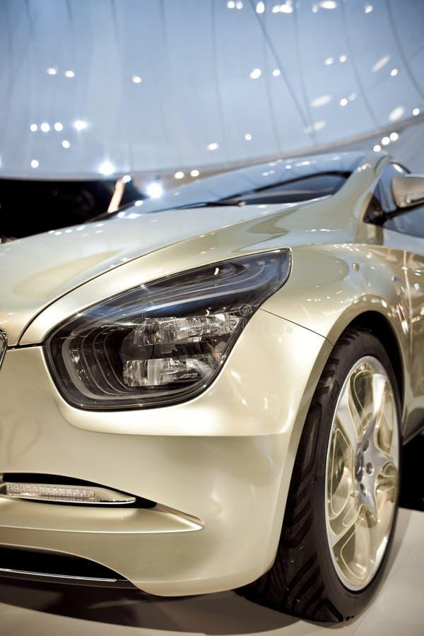 Merzedes Benz gezeigt auf 63. IAA lizenzfreie stockfotografie