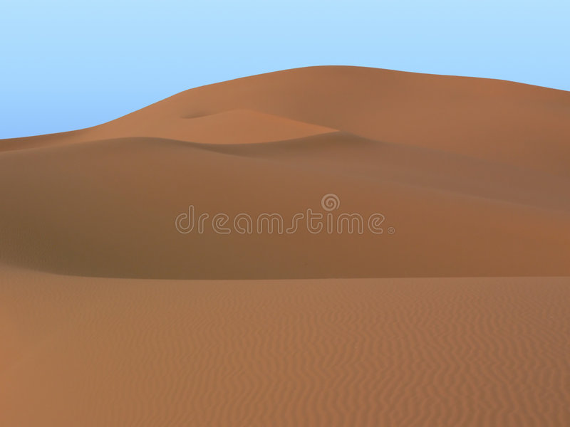 Merzouga dunes royalty free stock photo