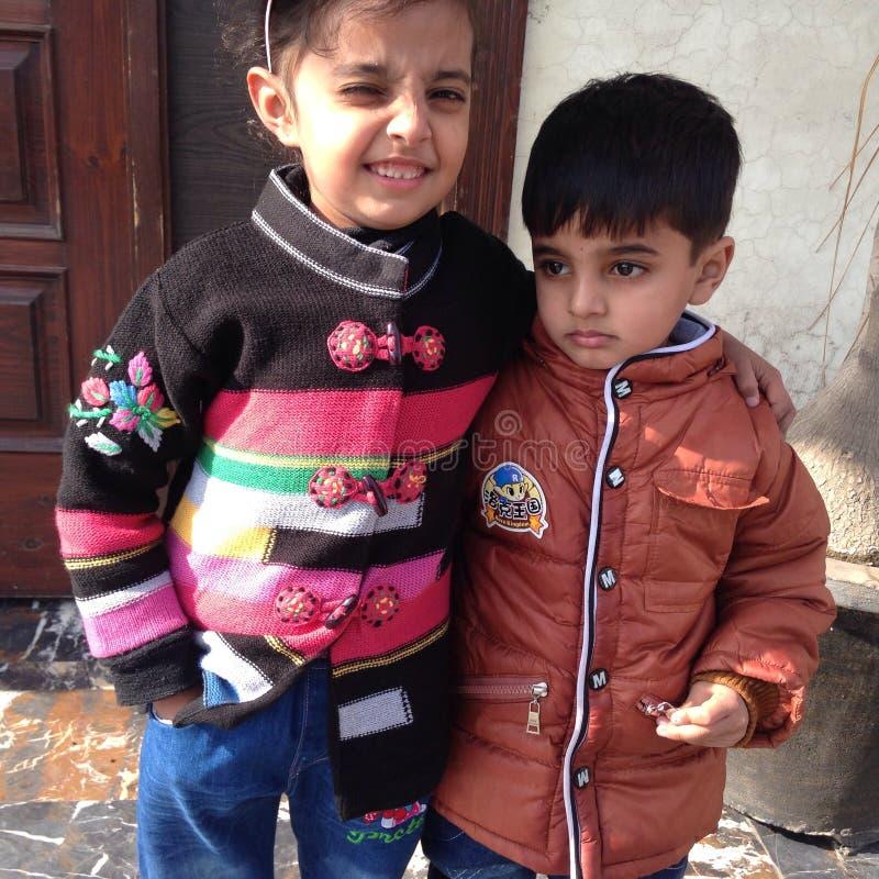 Mes enfants photo libre de droits
