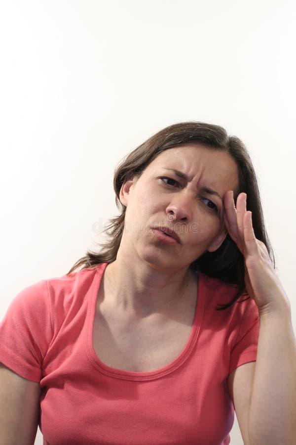 Mes maux de tête photos stock