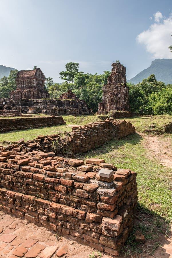 Mes ruines de temple de fils images libres de droits