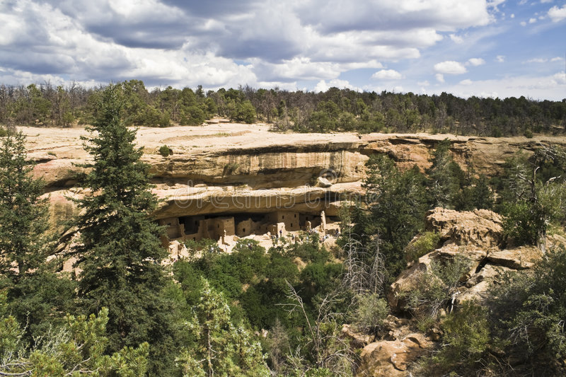 mesa国家公园verde 免版税图库摄影