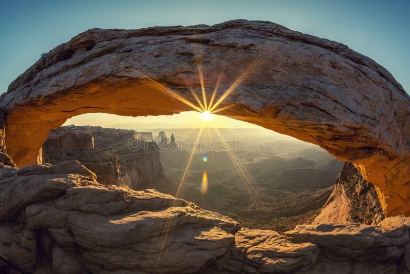 Mesa曲拱,特别摄影处理 免版税库存照片