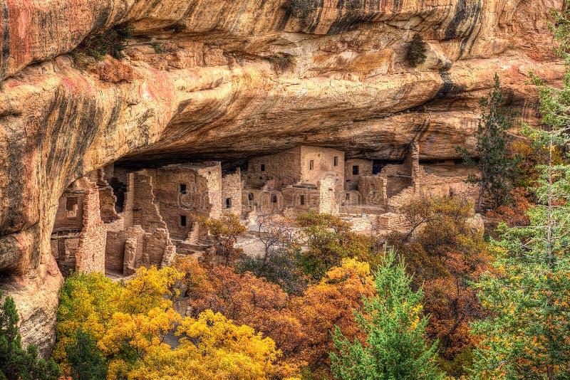 mesa κατοικιών απότομων βράχων v στοκ εικόνα