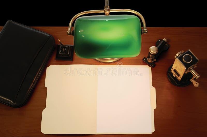 Mesa foto de archivo