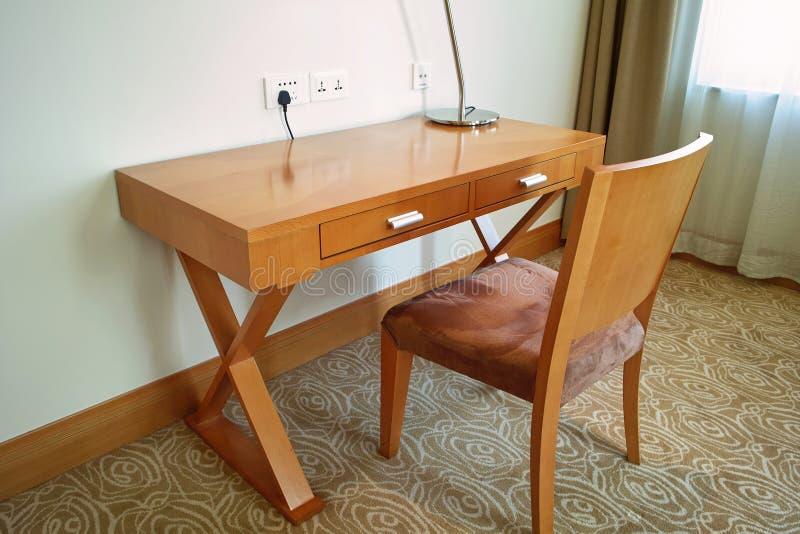Mesa & cadeira foto de stock royalty free
