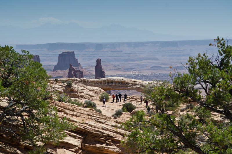 Download Mesa Arch stock photo. Image of national, mesa, america - 25371044