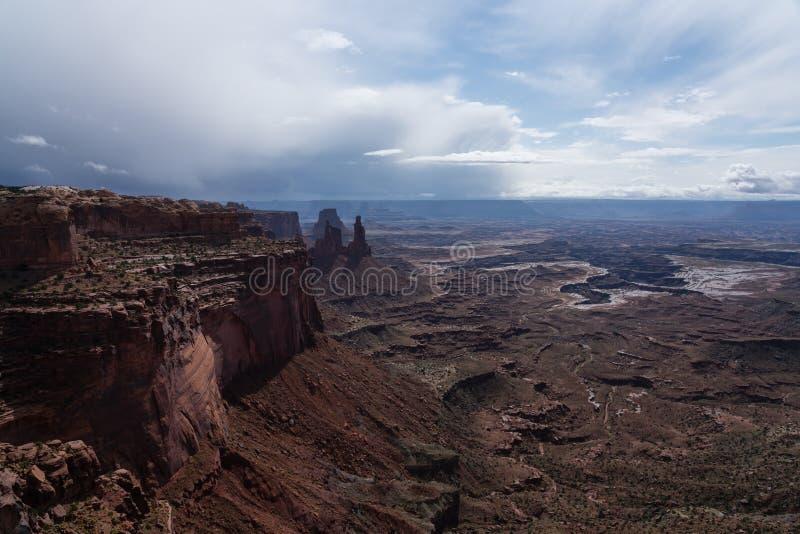 Mesa Arch fotografia stock