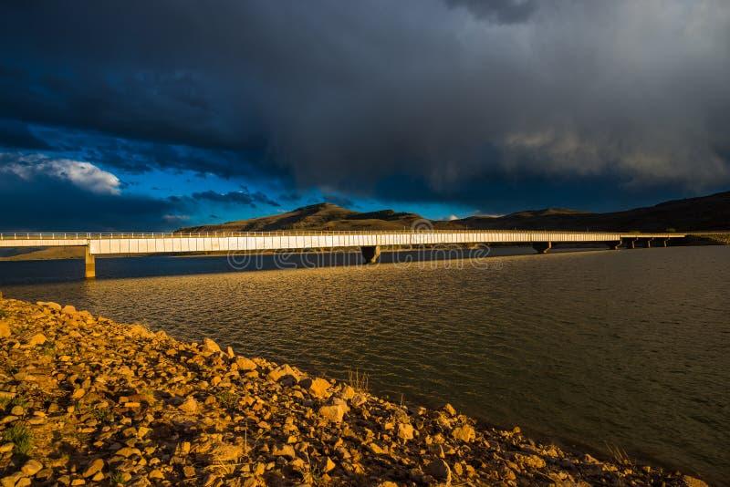 Mesa Bridge Wayne bleu N Unité de stockage d'Aspinall le Colorado Curecan image libre de droits