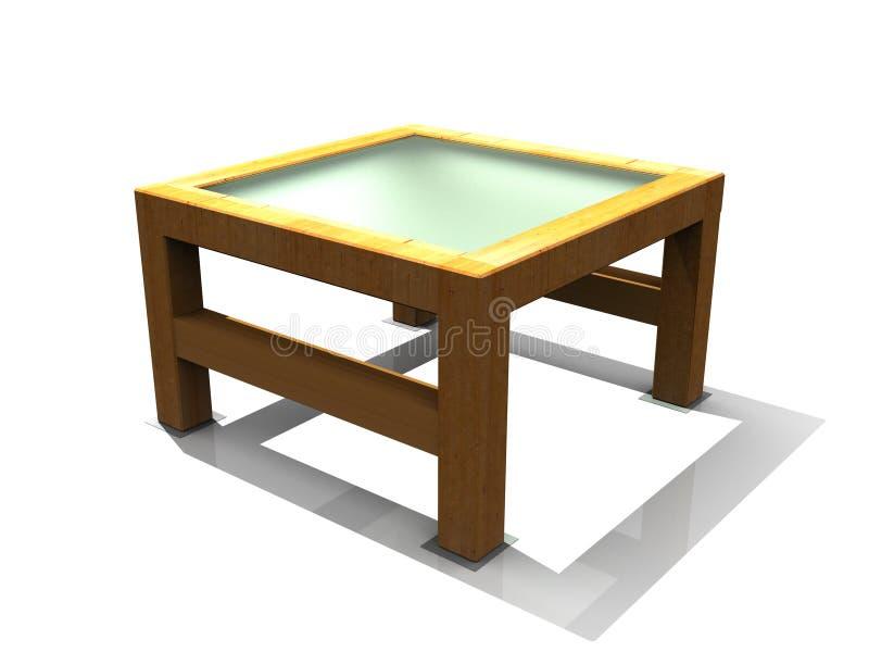 Mesa de centro stock de ilustración