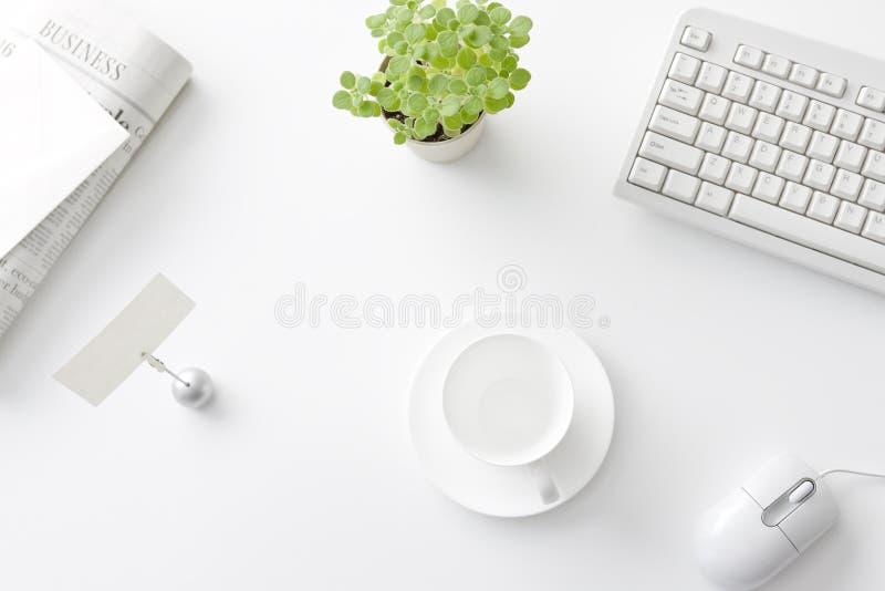 Mesa de escritório imagens de stock royalty free