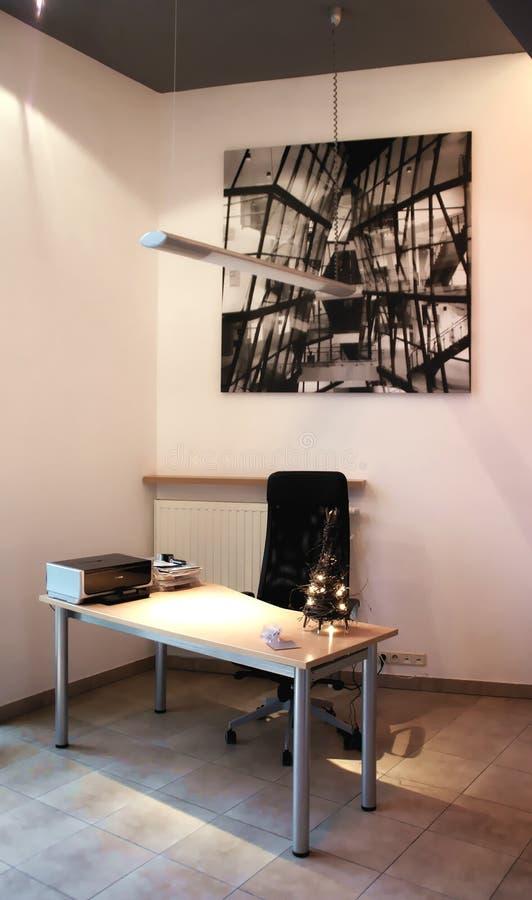 Mesa de escritório pequena foto de stock royalty free