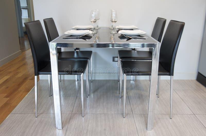 Mesa de jantar fotos de stock royalty free