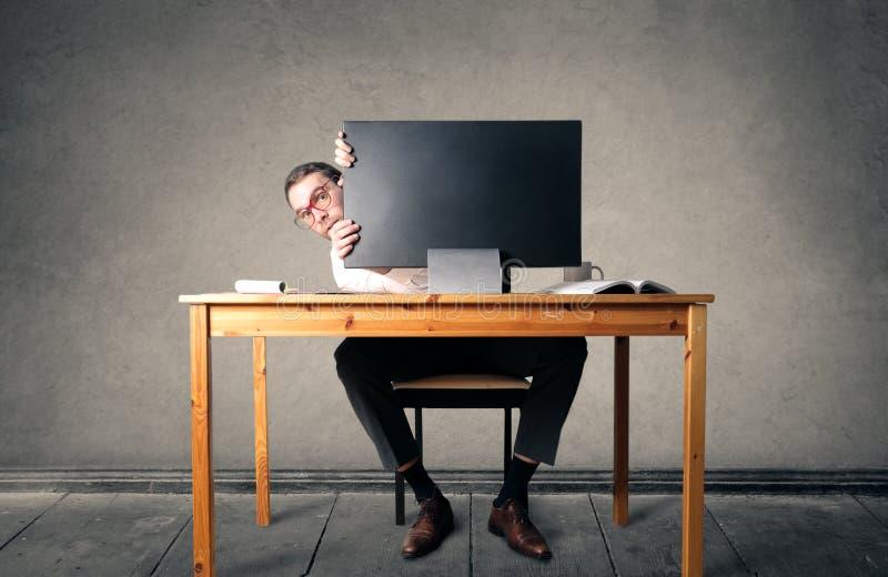 Mesa do esconderijo imagem de stock