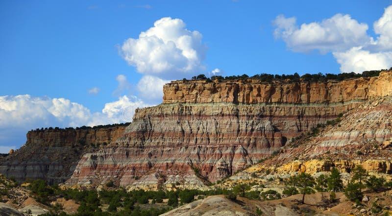MESA du nord de désert du Nouveau Mexique photo libre de droits