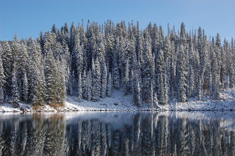 Mesa Lake, Colorado arkivbild