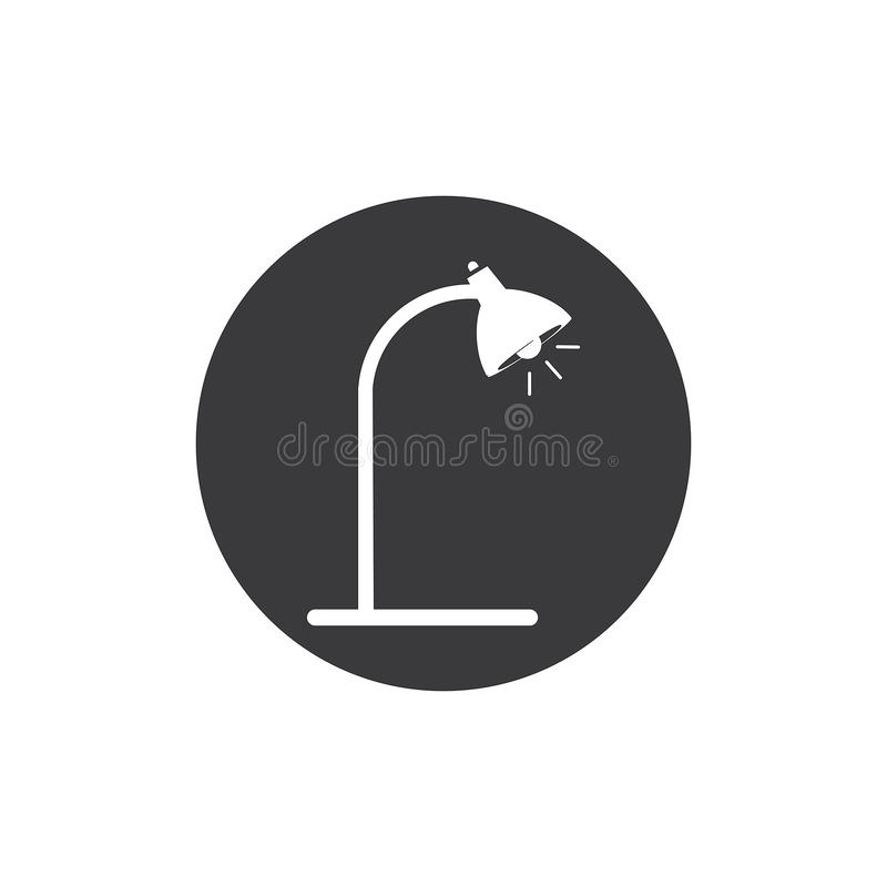 Mesa Lamp ilustração royalty free