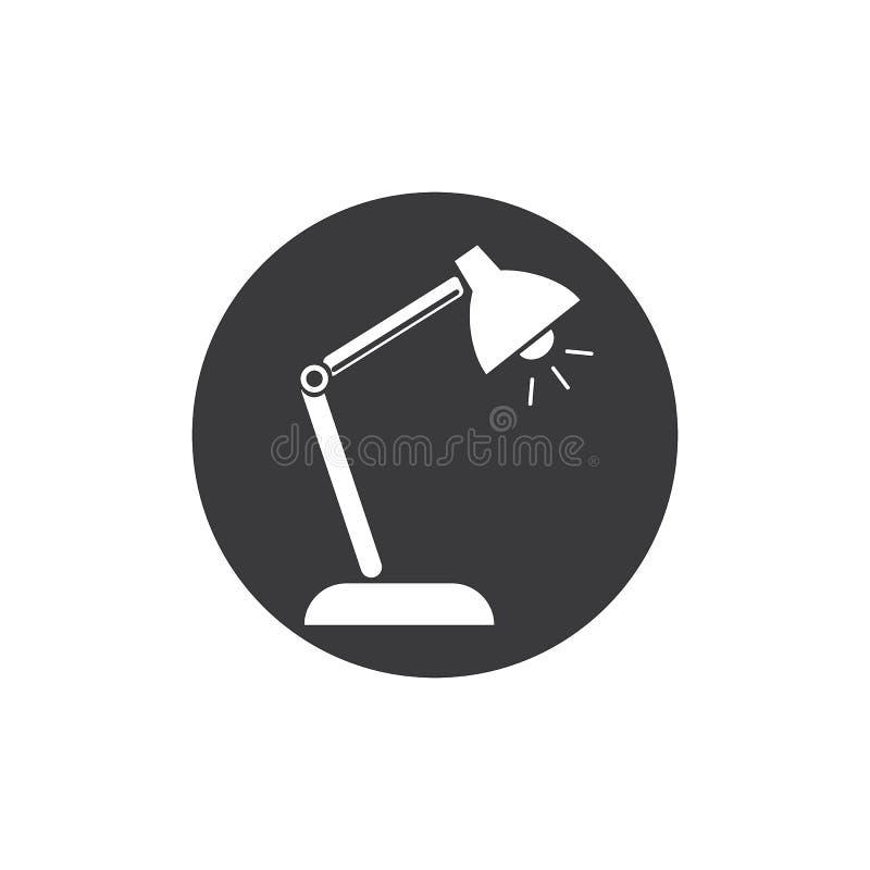 Mesa Lamp ilustração do vetor
