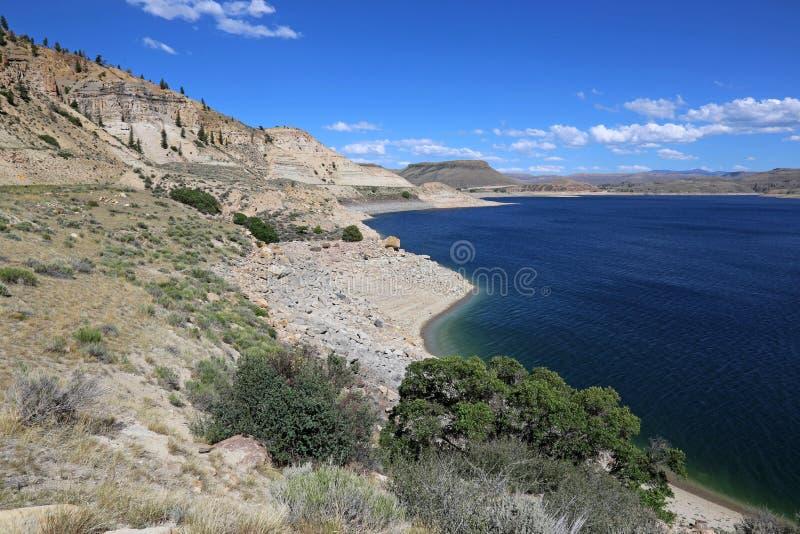 Mesa Reservoir bleu photos libres de droits