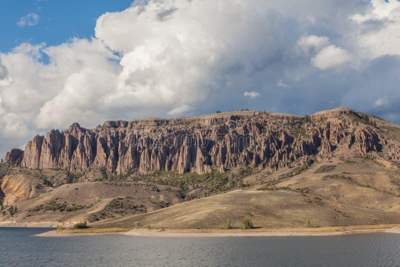 Mesa Reservoir Scenic bleu photo libre de droits