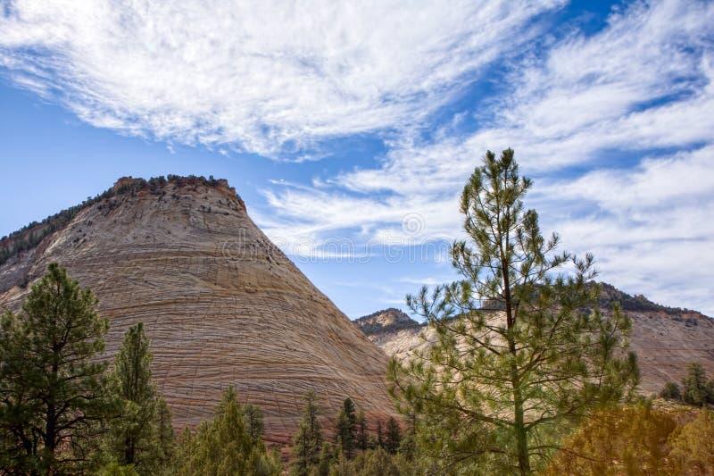 MESA sconosciuta della scacchiera di formazione rocciosa fotografia stock