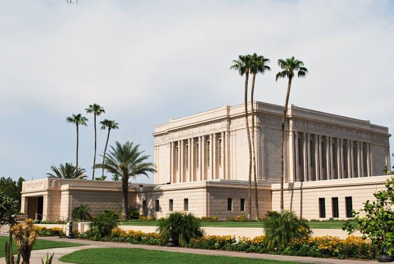 Mesa Temple photo libre de droits