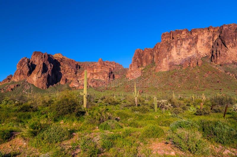 Mesa Trail negro fotos de archivo libres de regalías