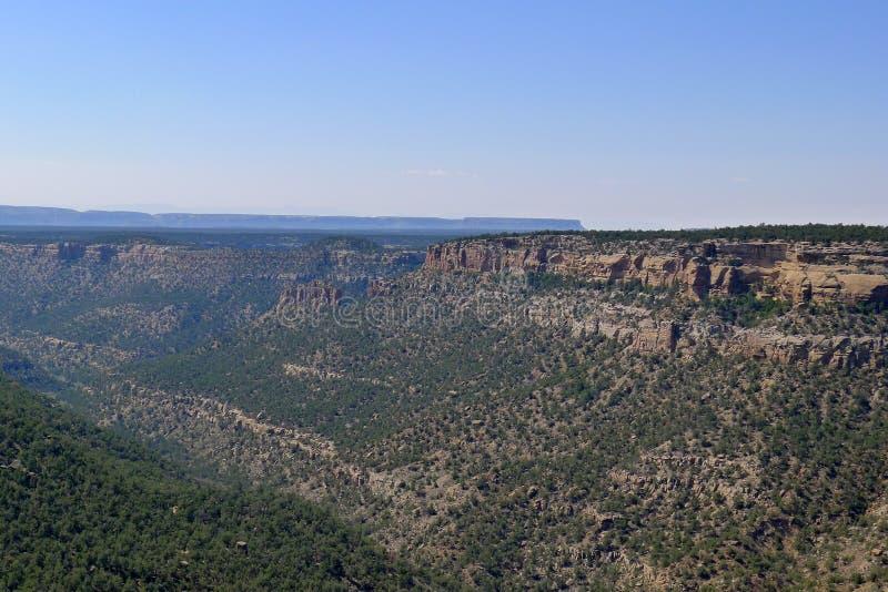 Mesa Verde国家公园 免版税图库摄影