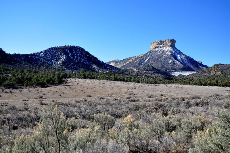 Mesa Verde国家公园 图库摄影