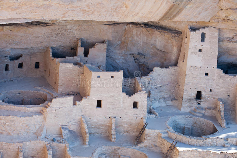 Mesa Verde National park royalty free stock image