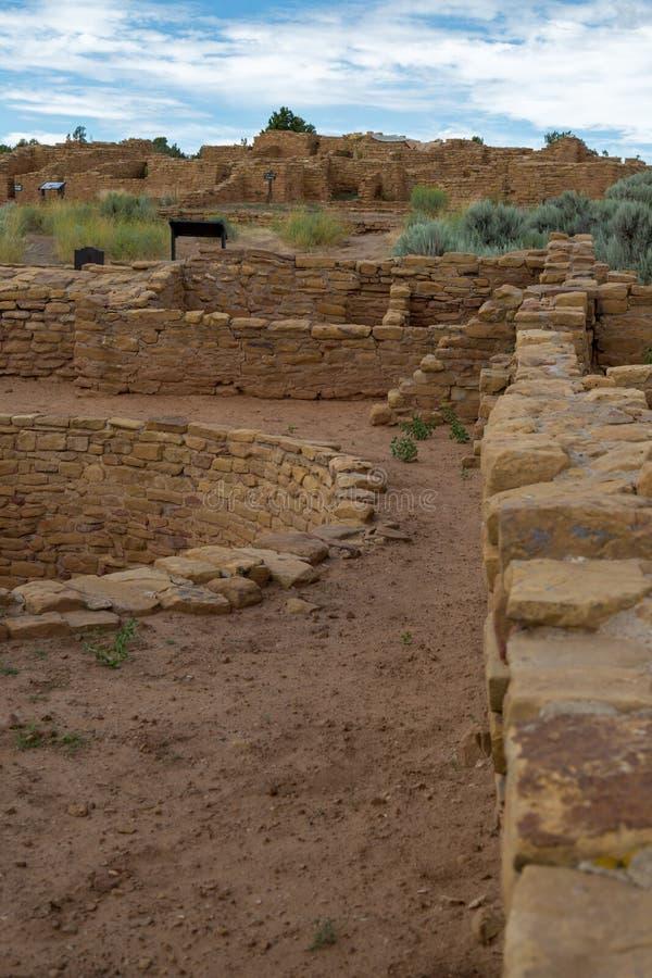 Mesa Verde National Park in Colorado. Amazing scenes from Mesa Verde National Park in Colorado stock photography