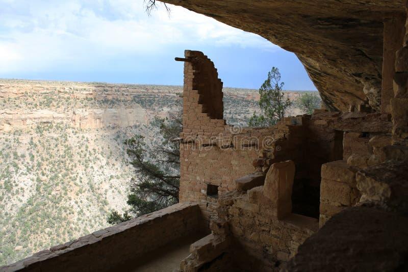 Mesa Verde National Park in Colorado, de V.S. royalty-vrije stock afbeeldingen