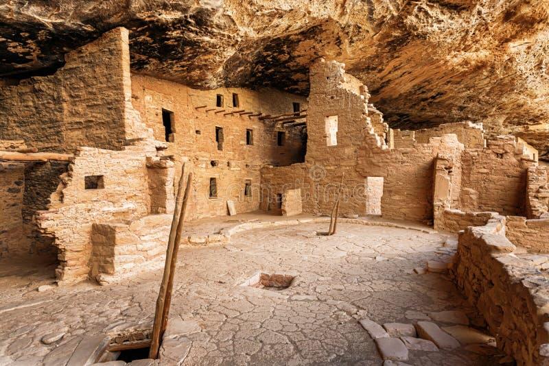 Mesa Verde National Park in Colorado, de V.S. royalty-vrije stock afbeelding