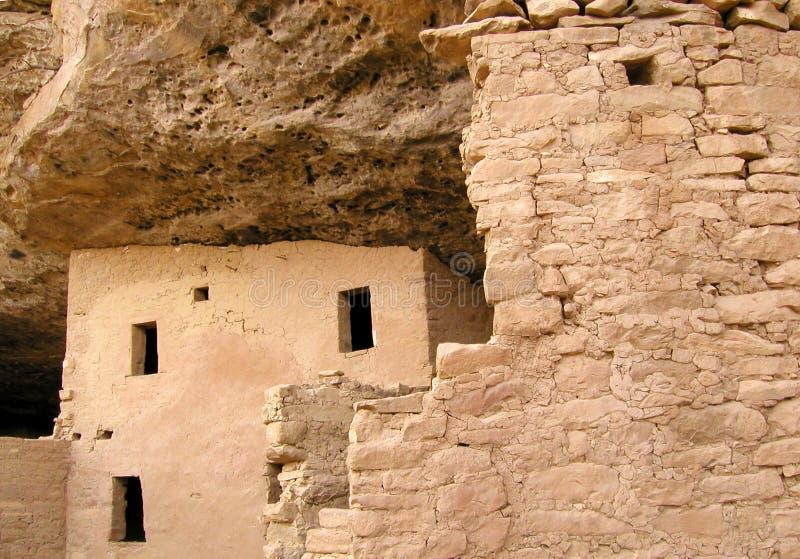 Mesa Verde ruïneert 7 stock afbeeldingen