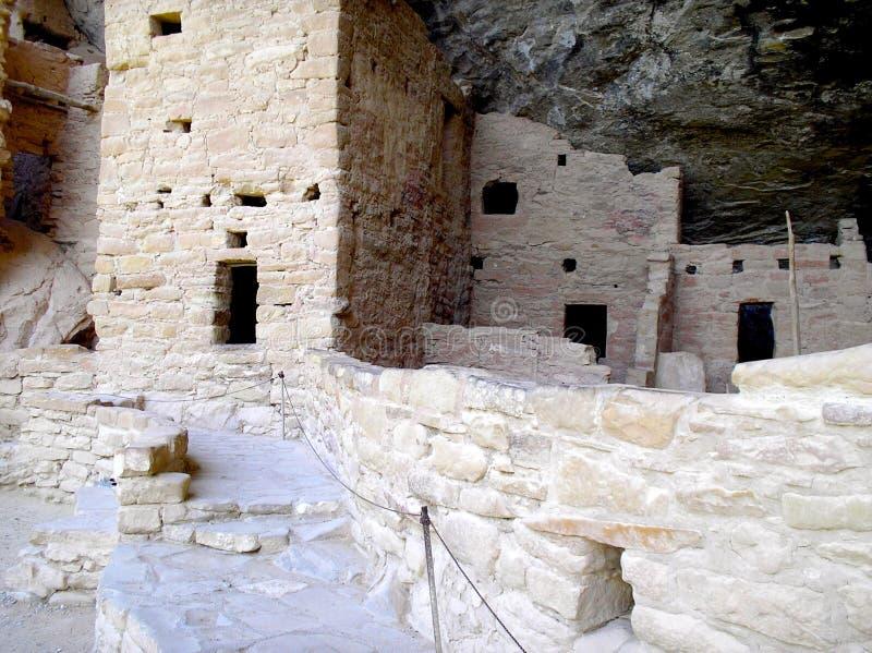 Mesa Verde Ruins fotografia stock