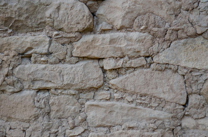 Mesa Verde Ruins Background. A background image of stone walls at the Mesa Verde ruins royalty free stock photo